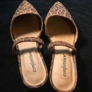 Comfortview The Katiya Pump 7ww Animal Print New
